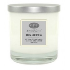 Black Amber Musk Candle