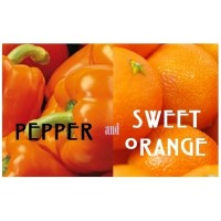 Pepper & Sweet Orange Candle